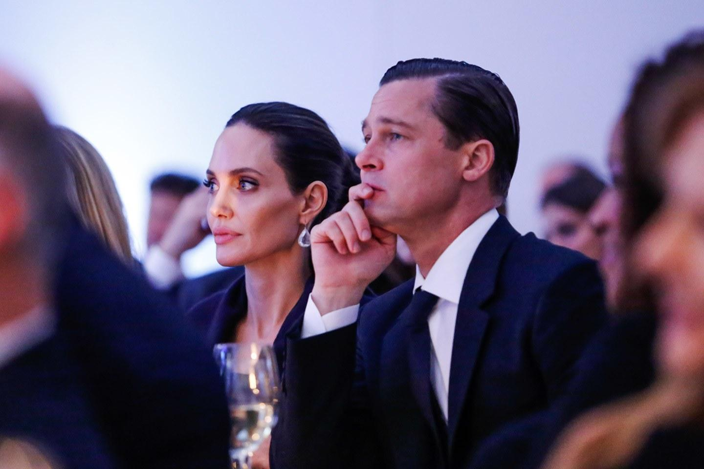 Brad Pitt Saddened By Angelina Jolie's Outings With The Kids - Reportedly Thinks She Uses Them To Look Like A Good Mother In The Media!