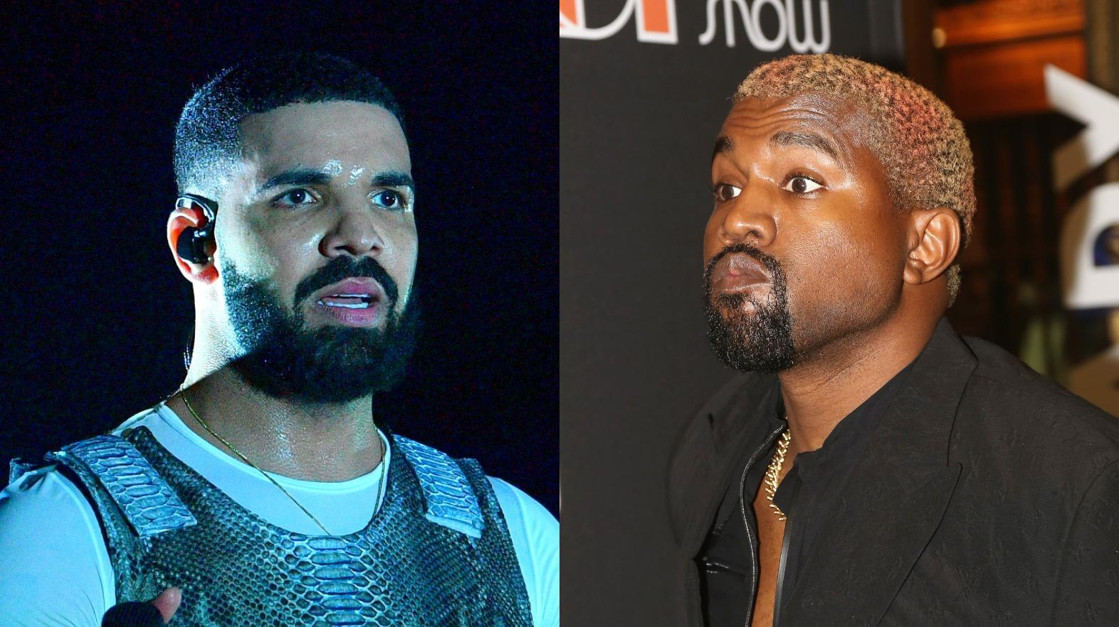 Kanye West Calls Out Drake After Realizing He Follows Kim Kardashian On Social Media - Reignites Their Feud!