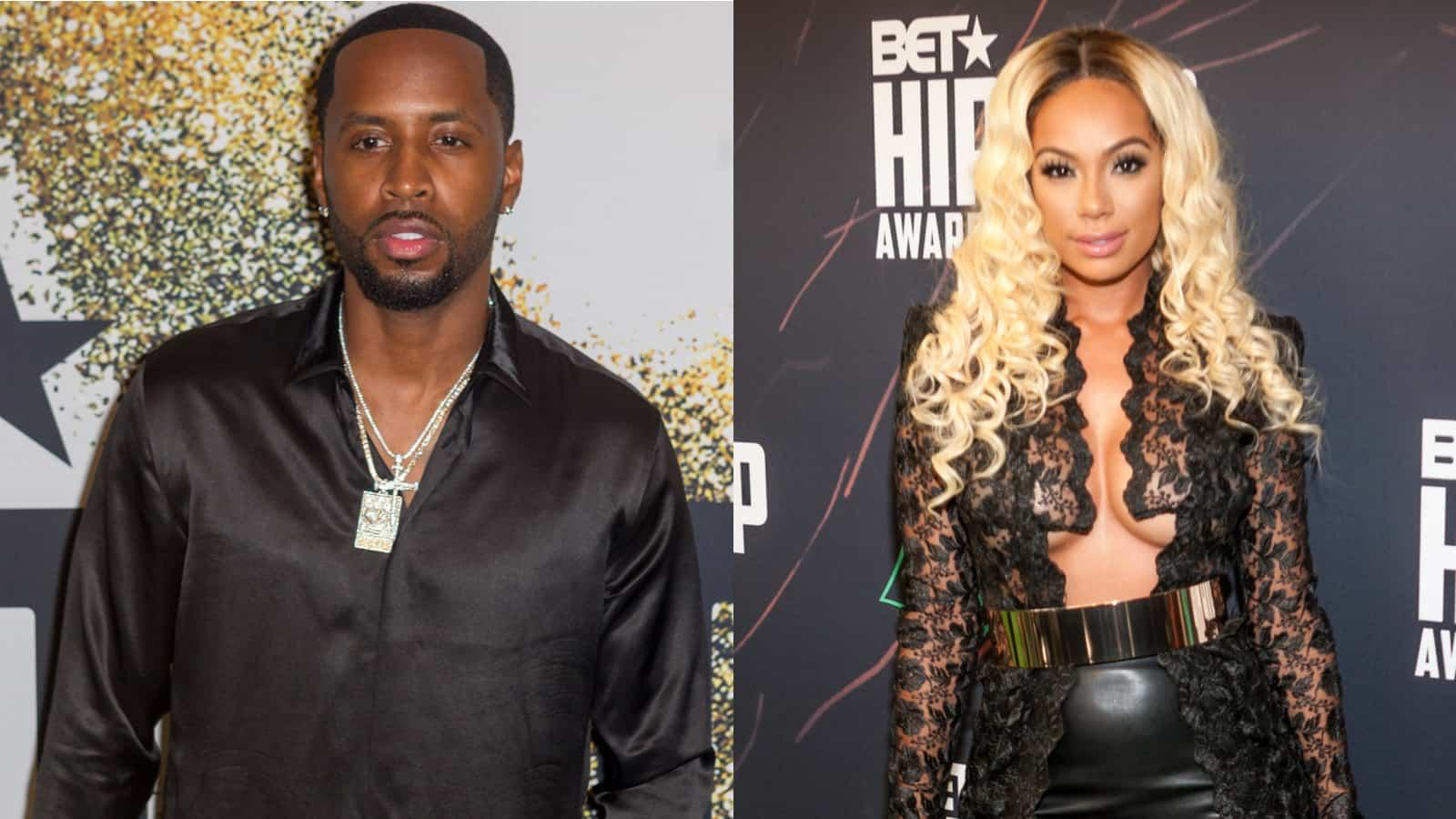 Erica Mena And Safaree May Be Preparing For A $350K Livestream Wedding After Sparking Pregnancy Rumors