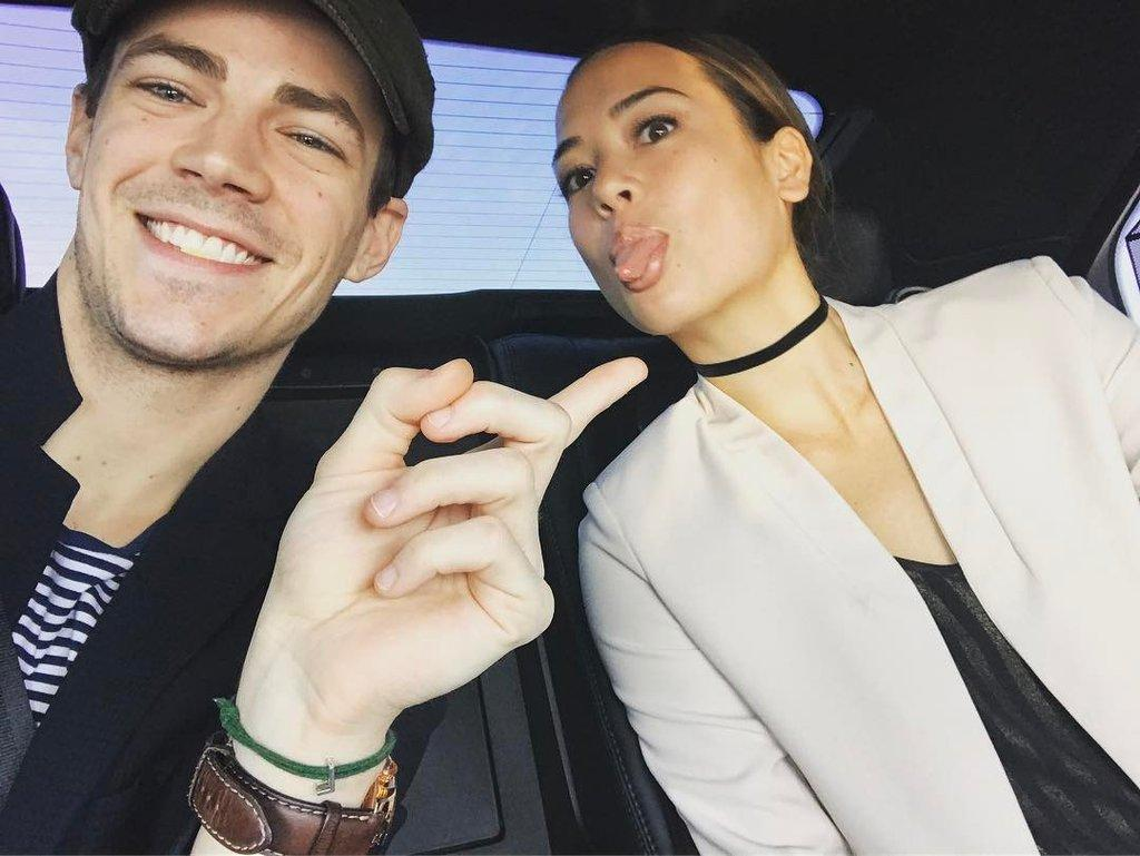 Grant Gustin, From 'The Flash,' Marries Fiancee LA Thoma!