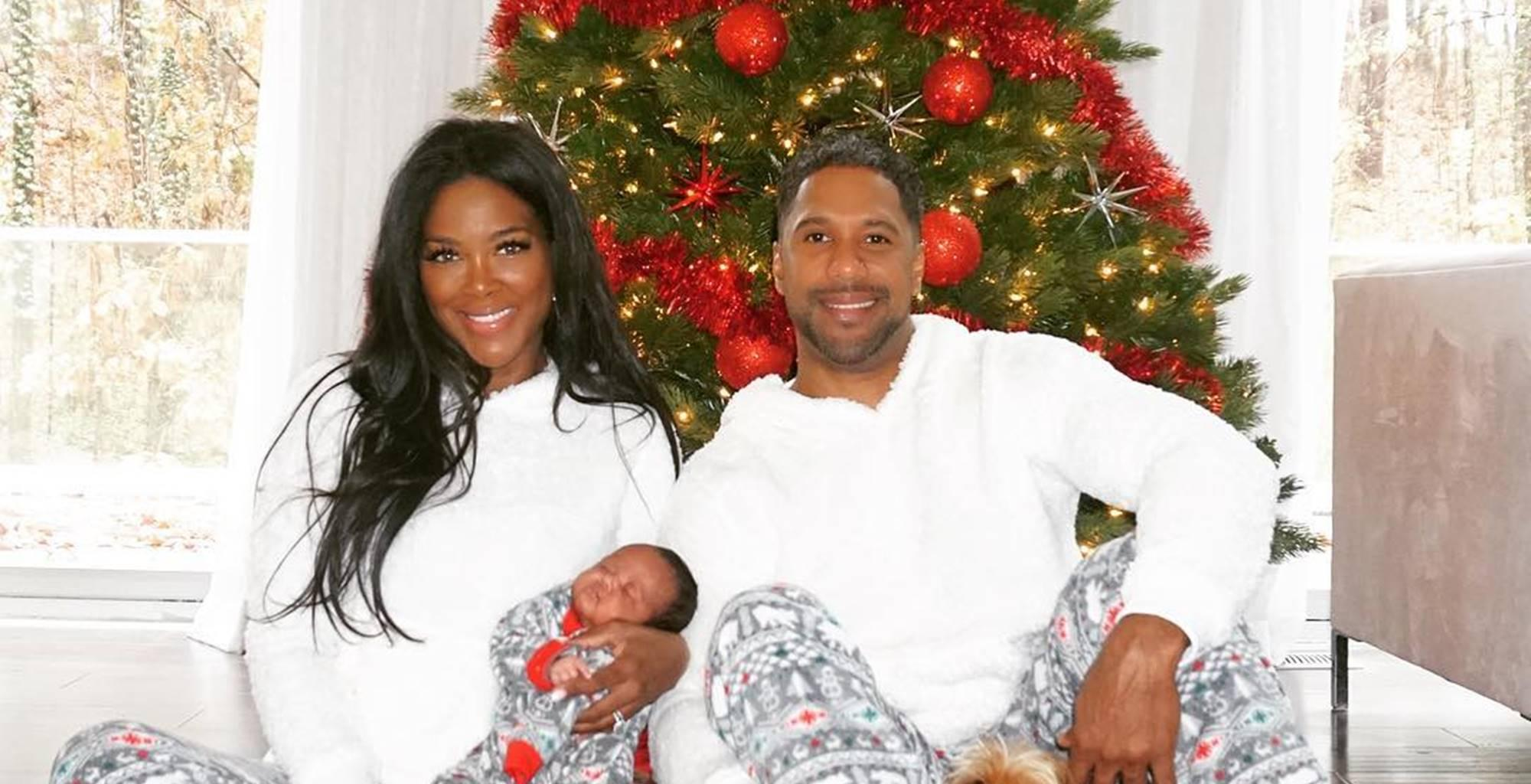 Did Kenya Moore Stage Her New Photo Shoot With Baby Brooklyn And Marc Daly?