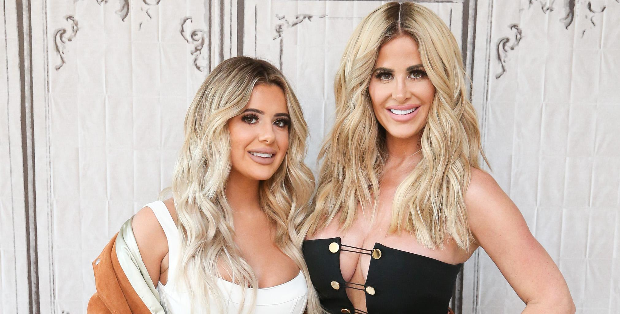 Kim Zolciak' Latest Photo Of Brielle Biermann Has Fans Saying She's Trying Te Replicate Her Mom With Huge Lips