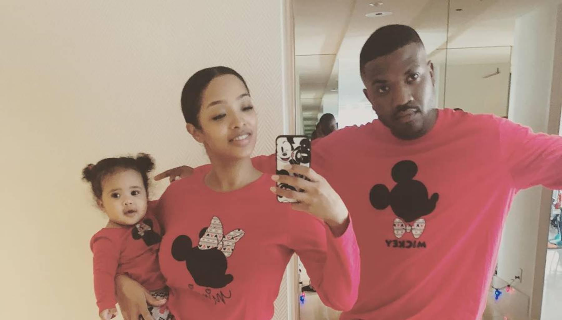 Ray J Fans Fight With Princess Love After She Shared Pictures Of Baby Melody With Pricey Christmas Gifts