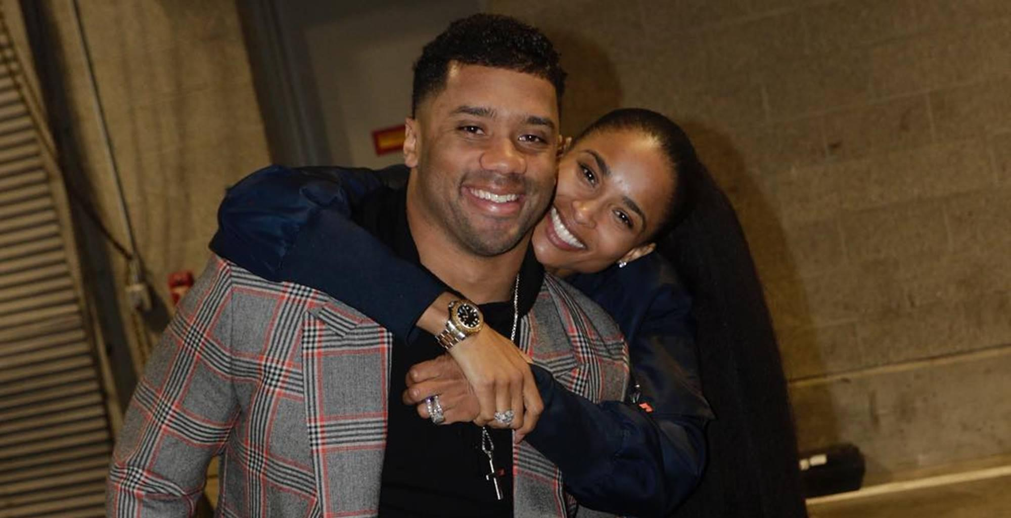 Proud Wife Ciara Focuses On Her Man Russell Wilson As Critics Bash Future's Mom's Hair And Looks