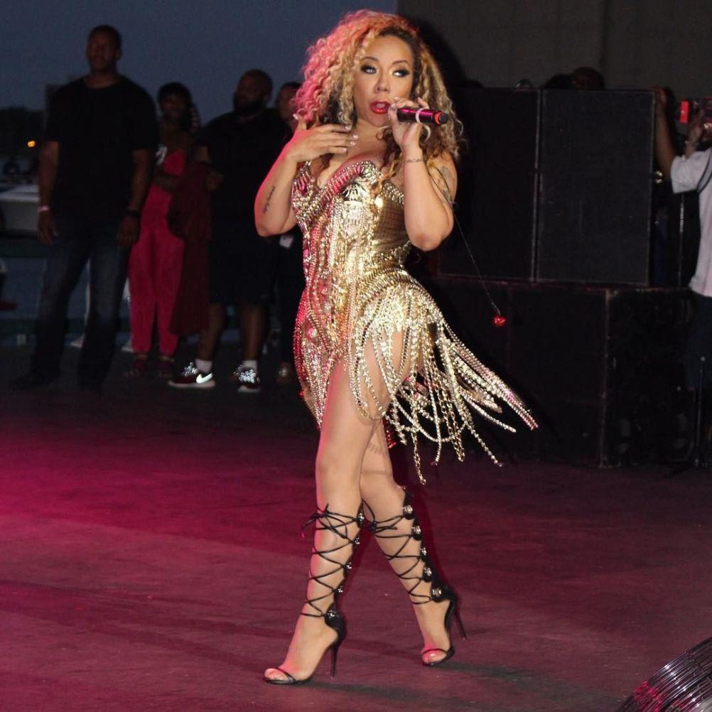 Tiny Harris Shows Off The Outfit In Which She Kicked Off The Holidays