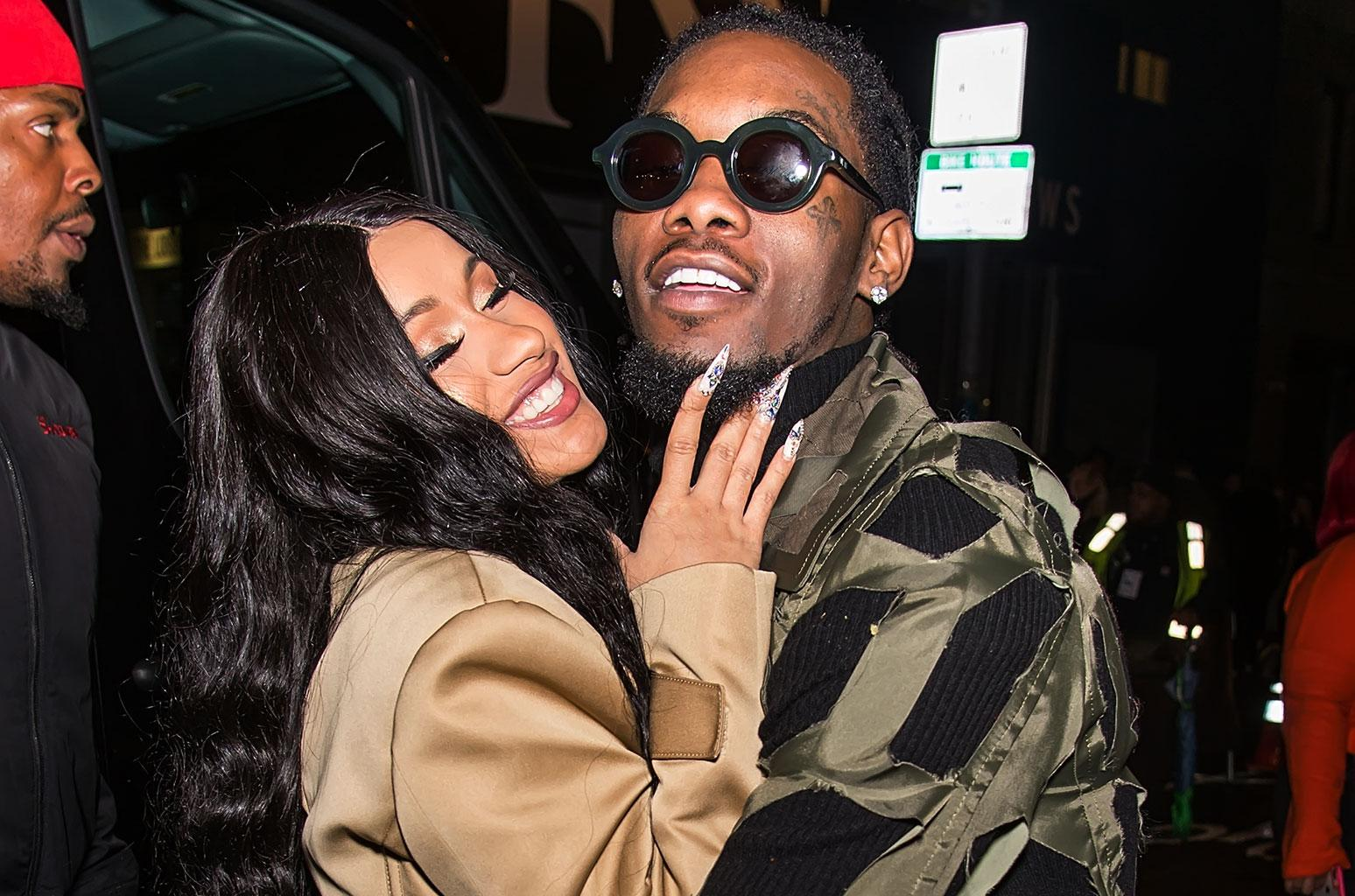 Cardi B And Offset - Friends Don't Want Them To Divorce, Source Says