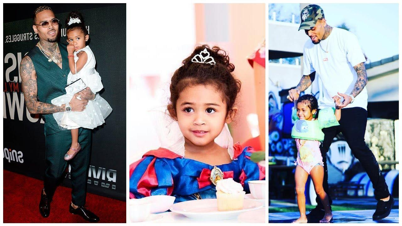 Chris Brown's Daughter Royalty's Latest Video Of Her Freestyle Has Fans Saying That She'll Be A Song Writer One Day