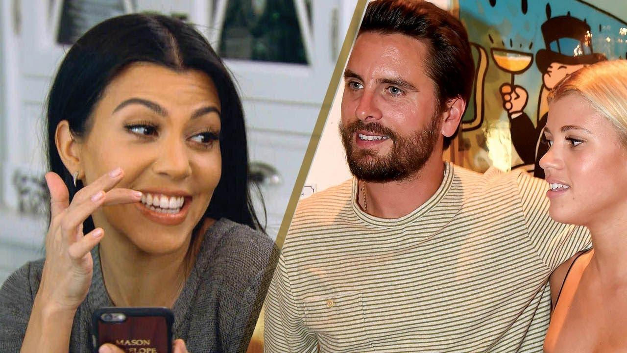 Scott Disick Reportedly Loves Hanging Out With His Girlfriend, Sofia Richie And Baby Mama, Kourtney Kardashian