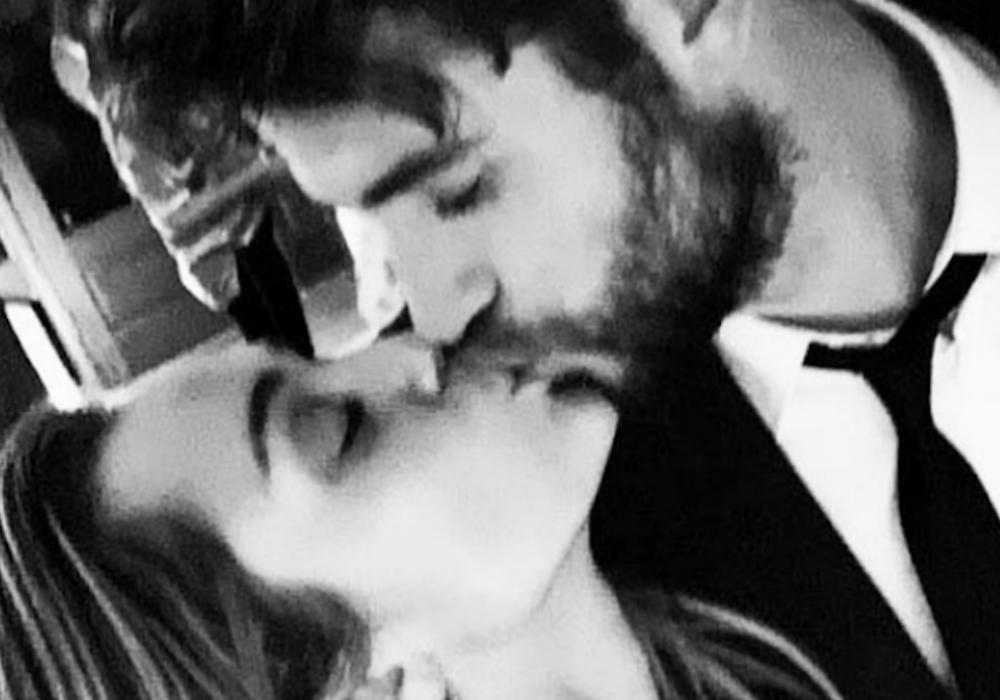 Liam Hemsworth Filmed Miley Cyrus Dancing In Her Wedding Gown To 'Uptown Funk' And It's Awesome