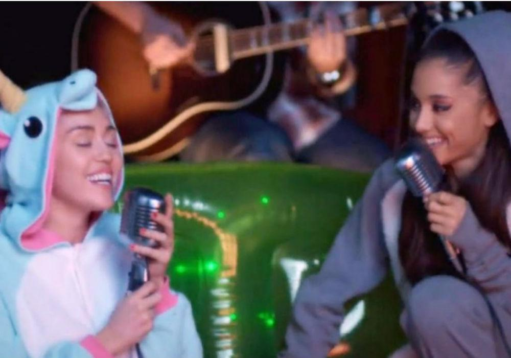 Miley Cyrus, Mark Ronson Cover Ariana Grande's 'No Tears Left To Cry' And Fans Are Screaming For A Duet
