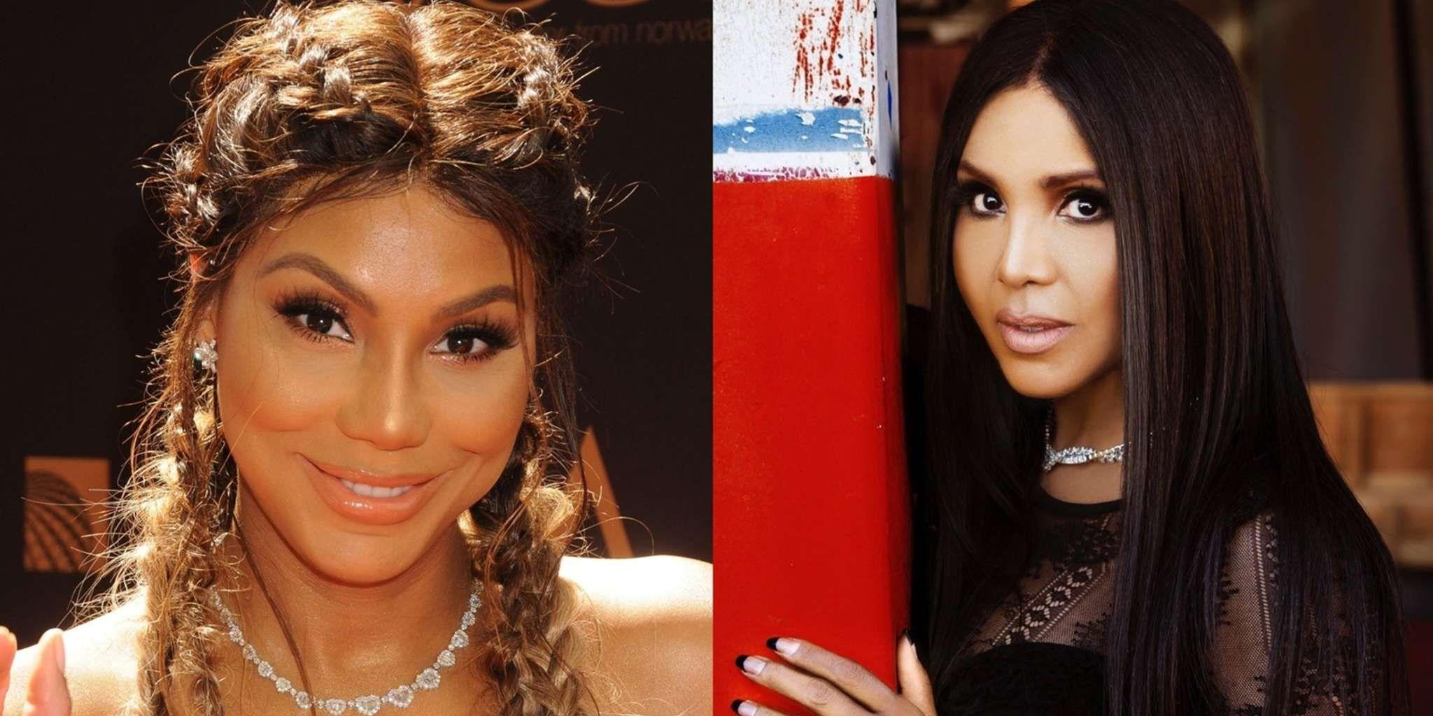 Check Out This Gorgeous Throwback Video Of Tamar And Toni Braxton Doing Cooking Karaoke To Mariah Carey