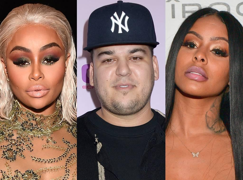They're The Real Deal! Blac Chyna And Alexis Skyy's Fight Was Over Rob Kardashian Who Has Been Seeing The Instagram Model For Some Time!