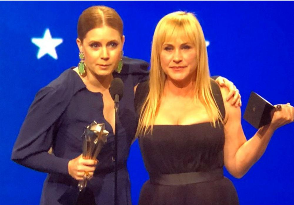 Amy Adams And Patricia Arquette Tie For Critics' Choice Award Best Actress In Limited Series