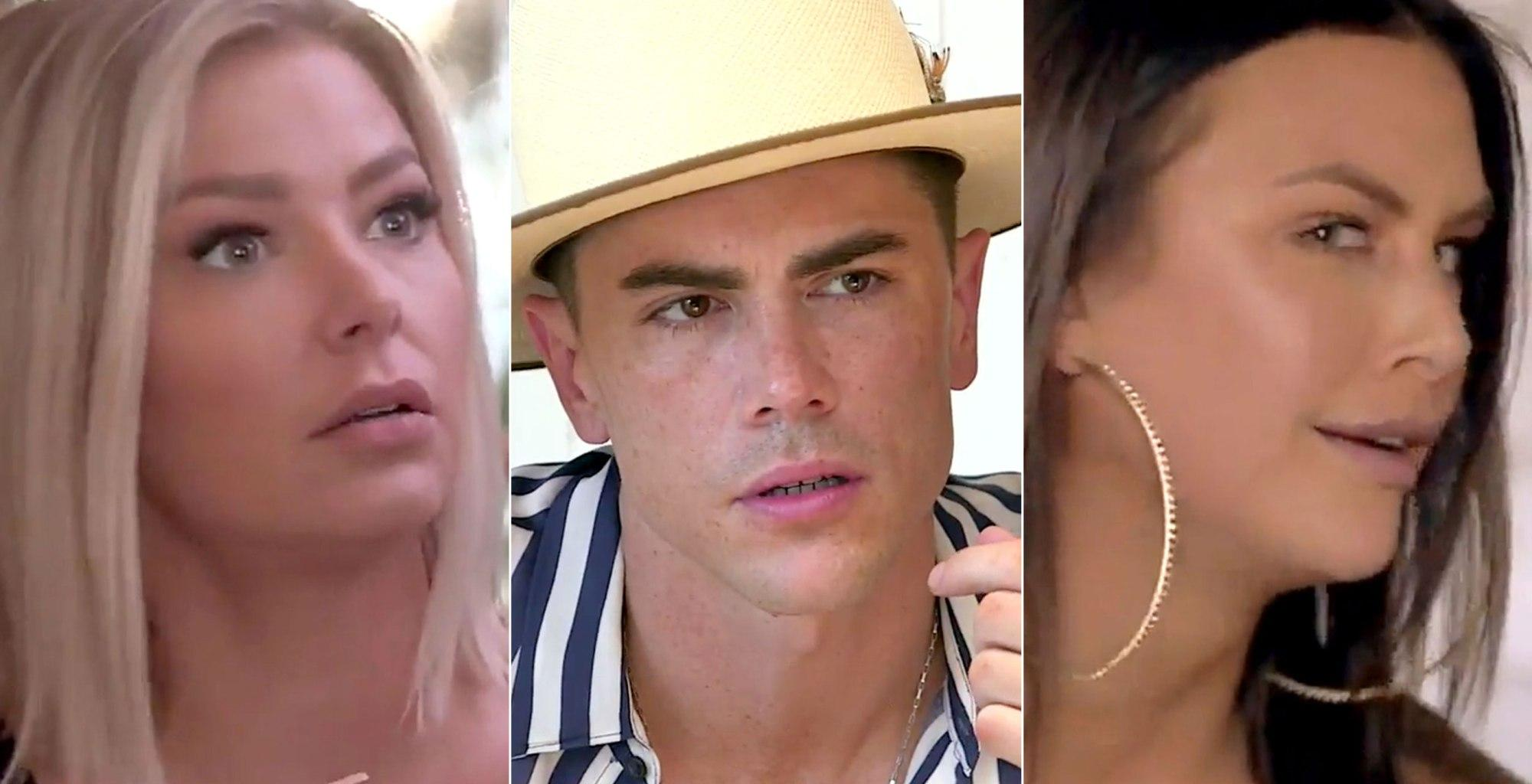 Ariana Madix Confronts Tom Sandoval About Her Hookup With Lala Kent On 'Vanderpump Rules'