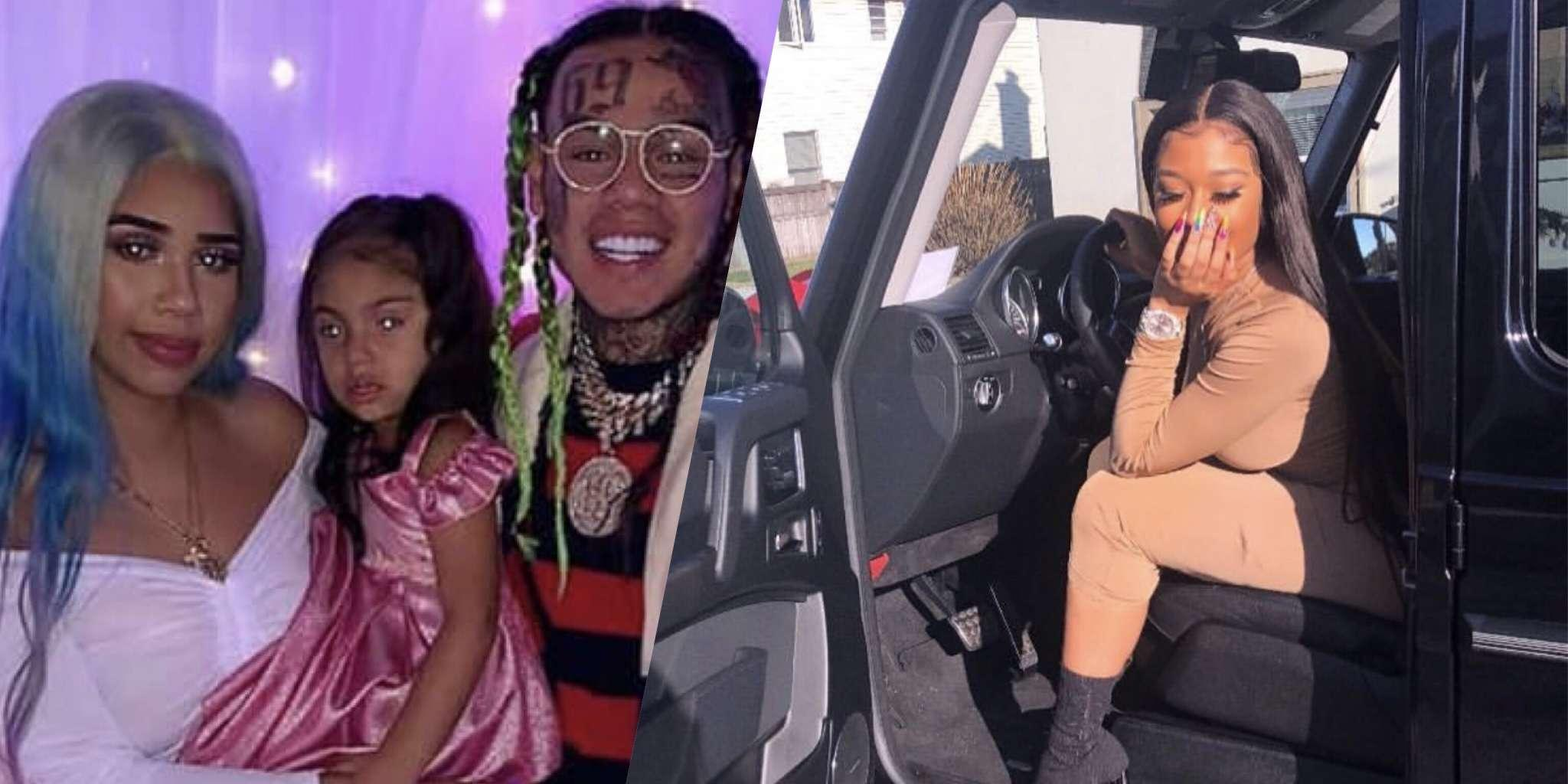 Tekashi 69's GF, Jade Defends Him From The Haters Who Claim He's Not A Good Father To His Daughter - She Says He Left His Baby Mama $100,000