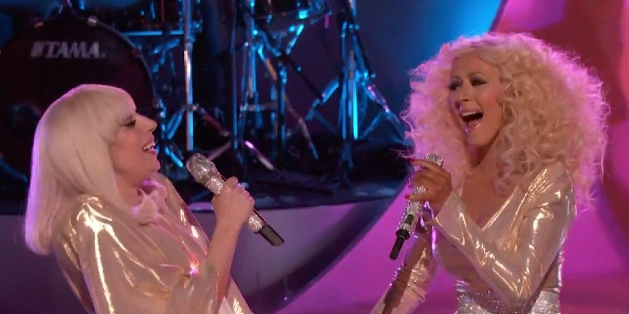 Christina Aguilera Shows Support To Lady Gaga After Denouncing R. Kelly