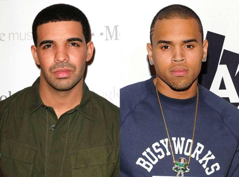 Chris Brown And Drake Hung Out On New Years Eve And Fans Aren't Happy About It