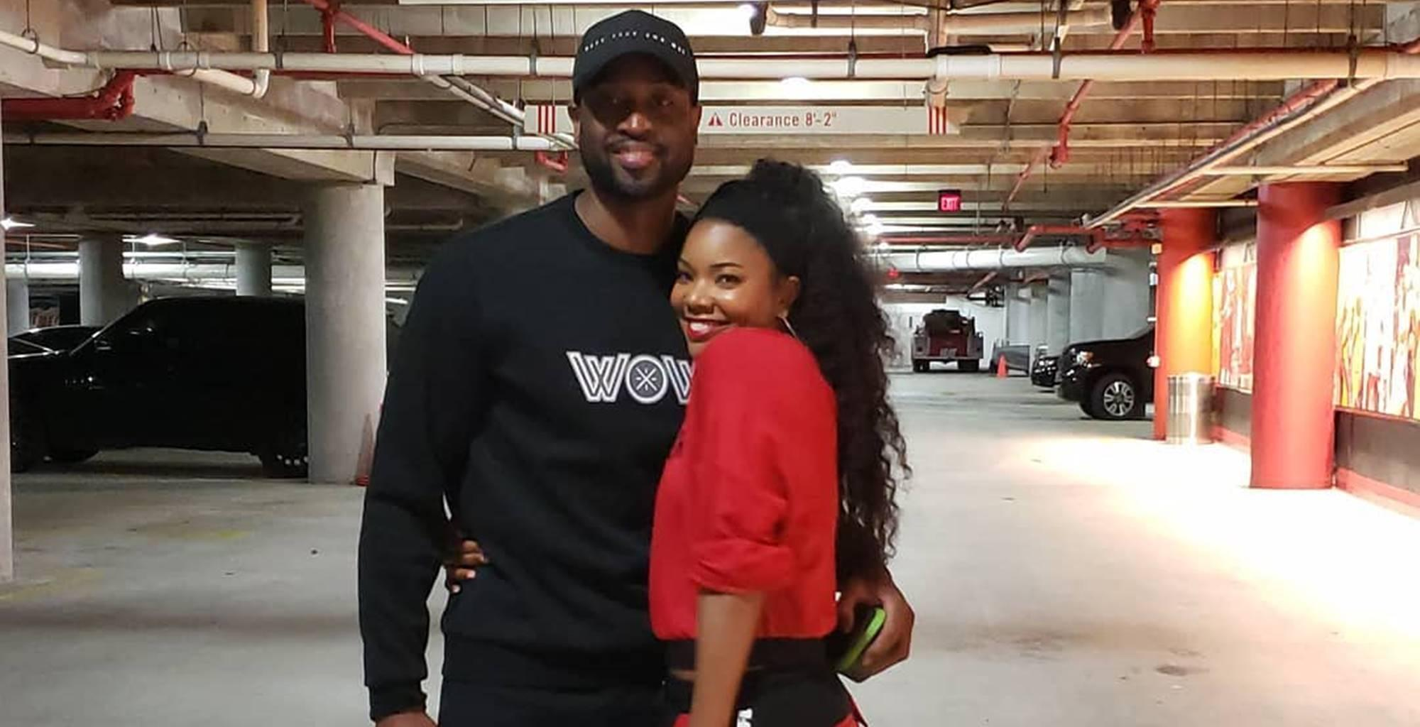 Union wade and gabrielle Gabrielle Union