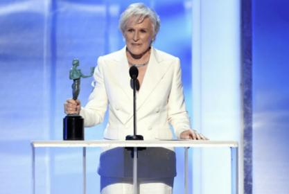 Glenn Close Wins Best Actress SAG Award For 'The Wife' After 'Fatal Attraction' Reunion With Michael Douglas