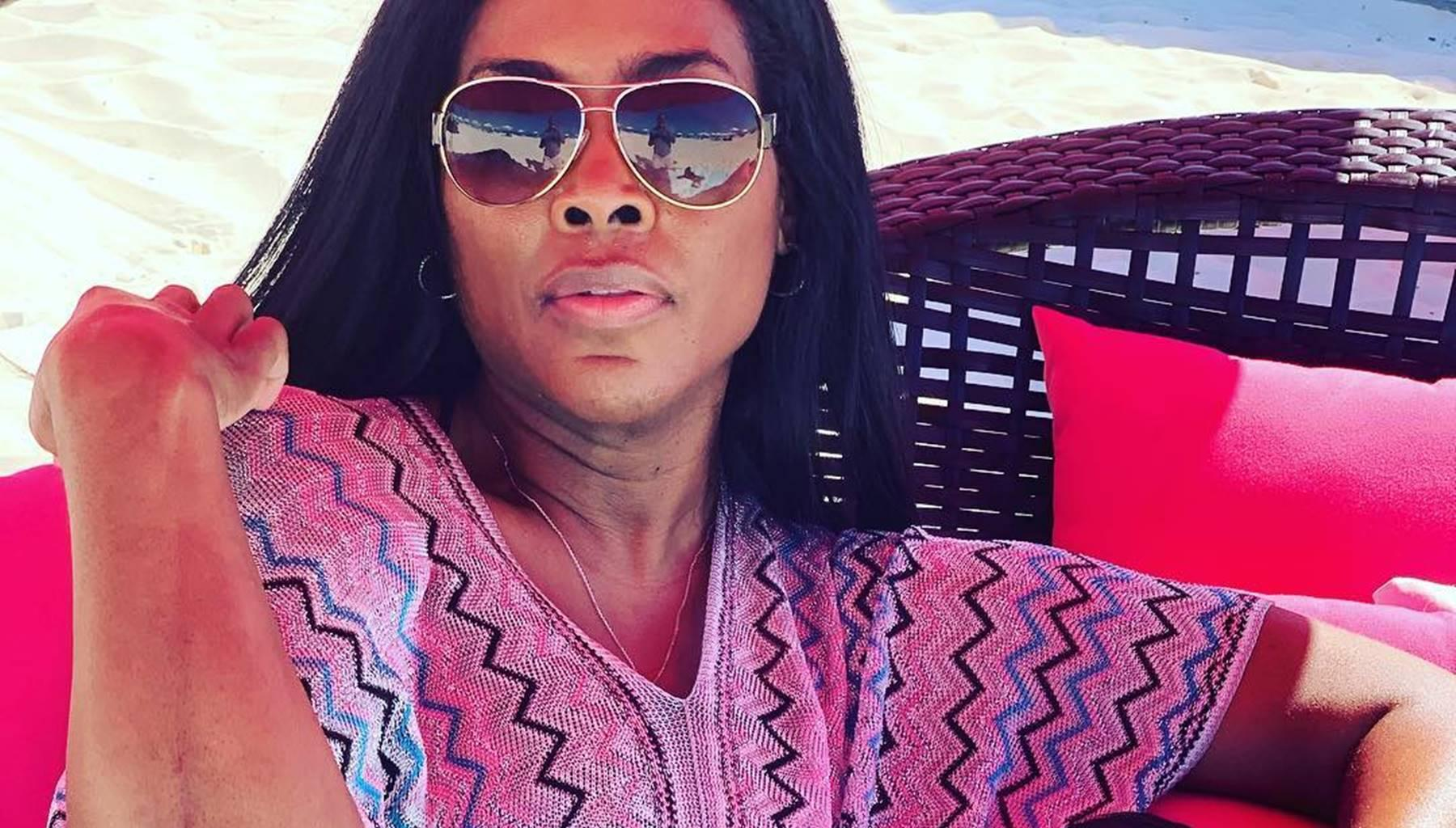 Kenya Moore Shows Off Post-Baby Body In Secret Vacation Pictures With Marc Daly -- The 'RHOA' Feuds Seem So Far Away With Baby Brooklyn Around