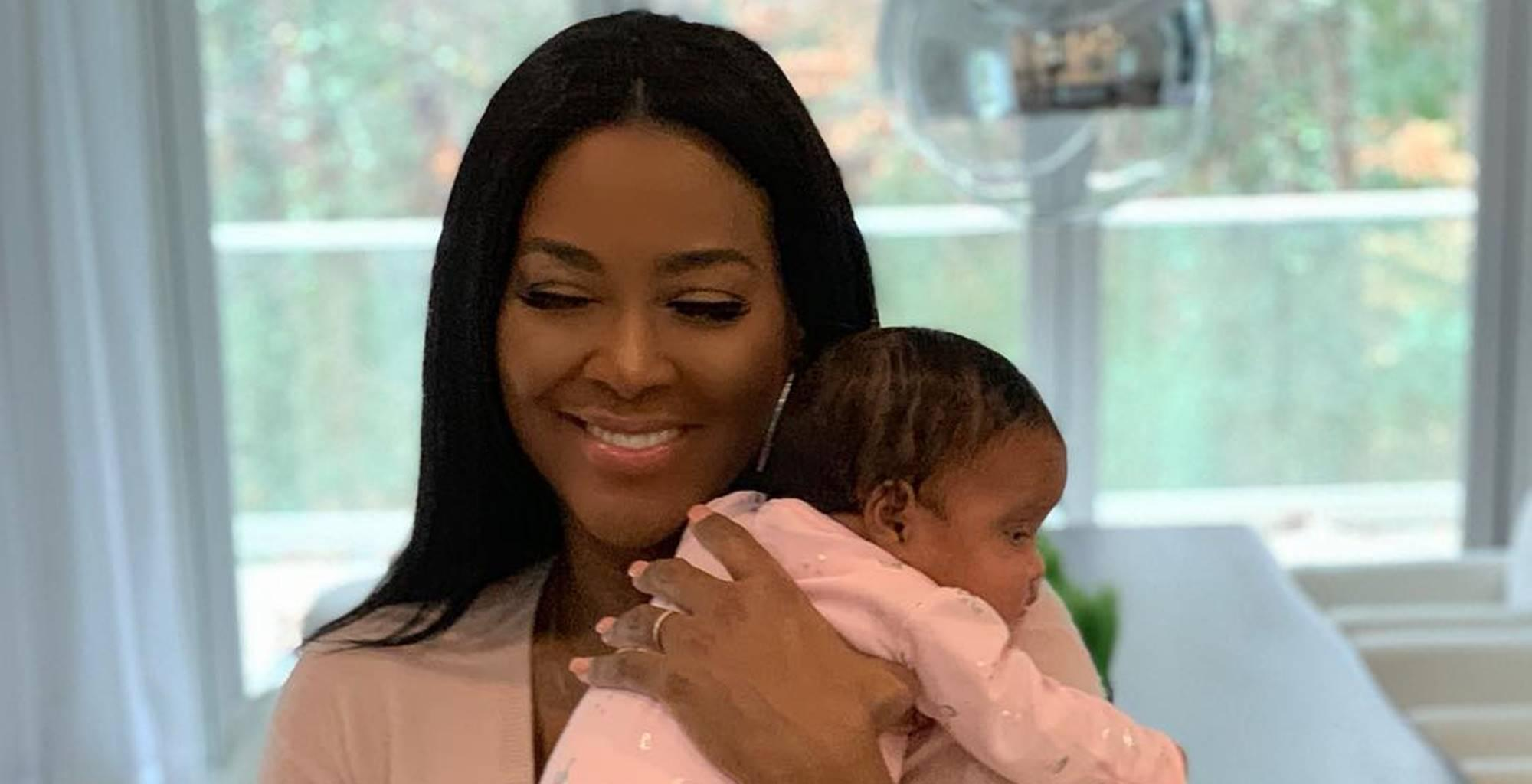 Kenya Moore Shares Heart-Melting Picture And Tells The World Why Baby Brooklyn Is The Ruler Of Her Days And Nights