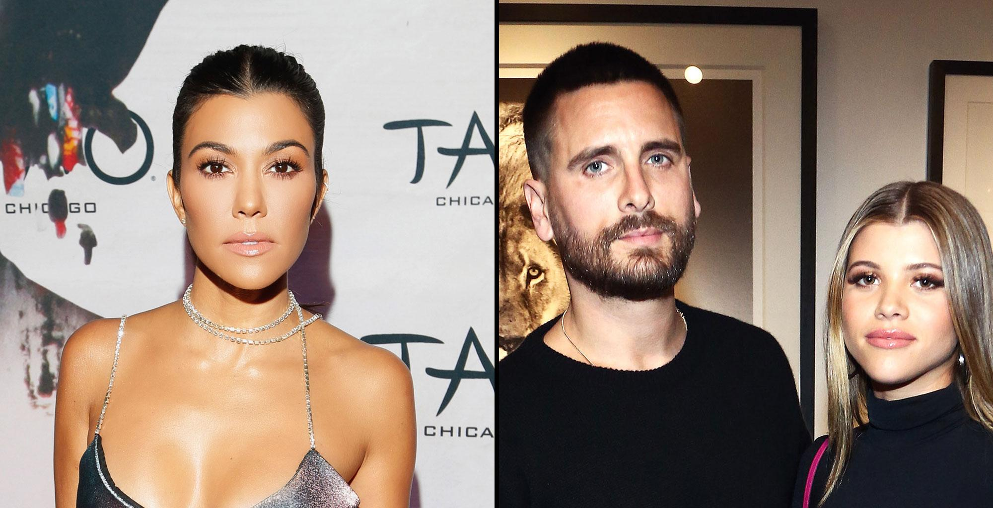 Sofia Richie Reportedly Felt 'Intimidated' By Scott Disick's Baby Mama, Kourtney Kardashian During The Aspen Family Trip - She Wished Kylie Jenner Were There As Well