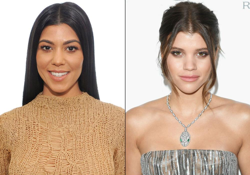 Kourtney Kardashian Is Still In Total Competition With Sofia Richie Despite Playing Nice WIth Scott Disick's GF