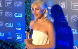 Lady Gaga Wins Critics' Choice Awards Best Song For 'Shallow' From 'A Star Is Born'