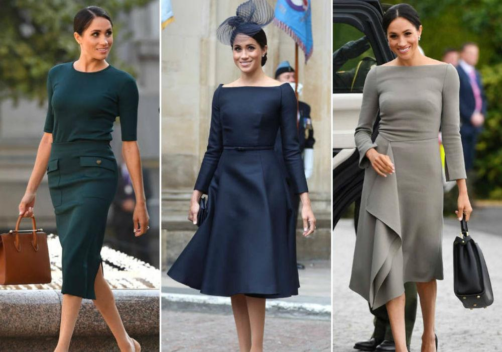Meghan Markle's Wardrobe Reportedly Cost 6 Times What Kate Middleton's Did In 2018