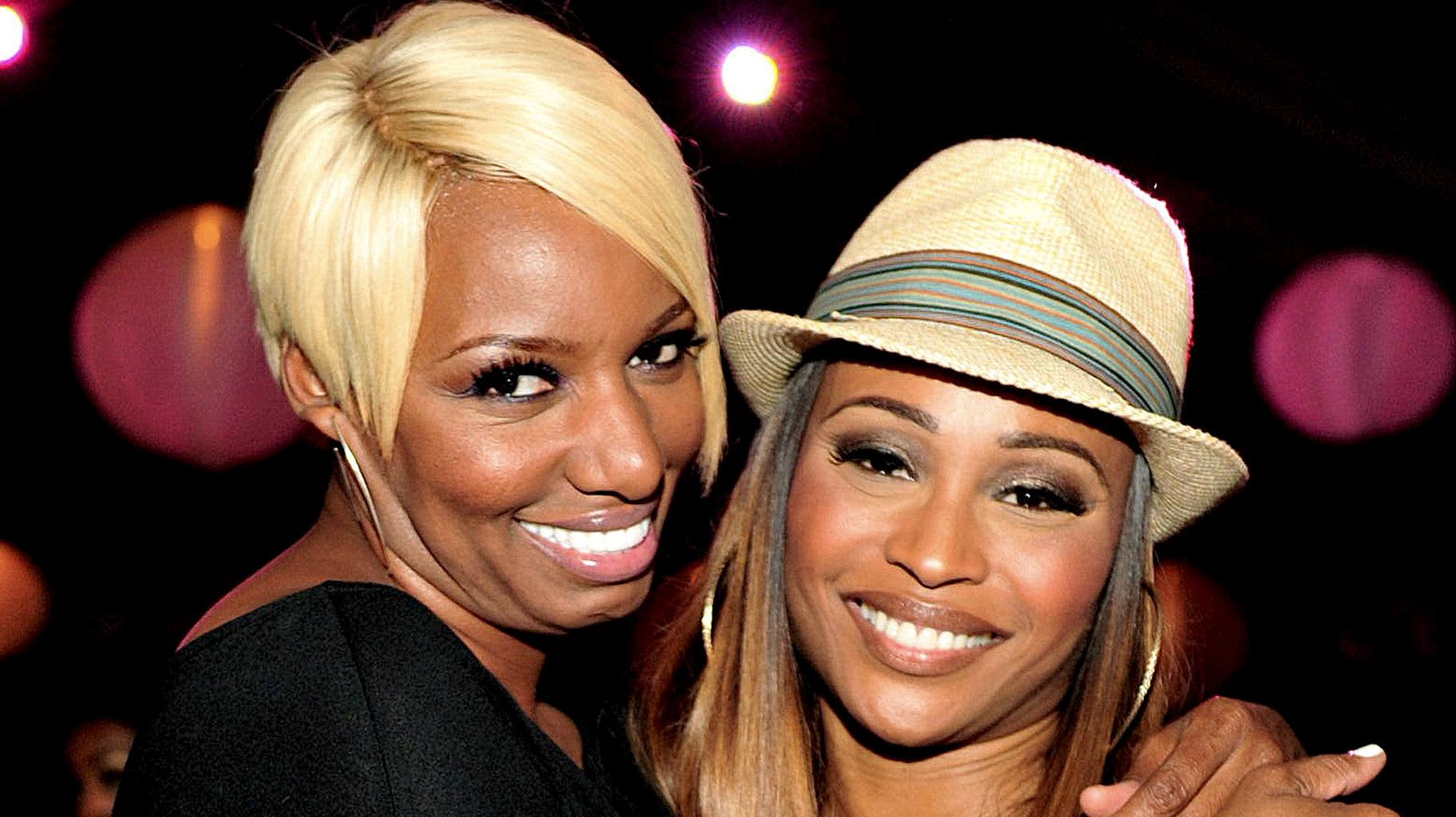 NeNe Leakes Gushes Over Her 'Sister Friend' Cynthia Bailey In An All-Black Gorgeous Outfit