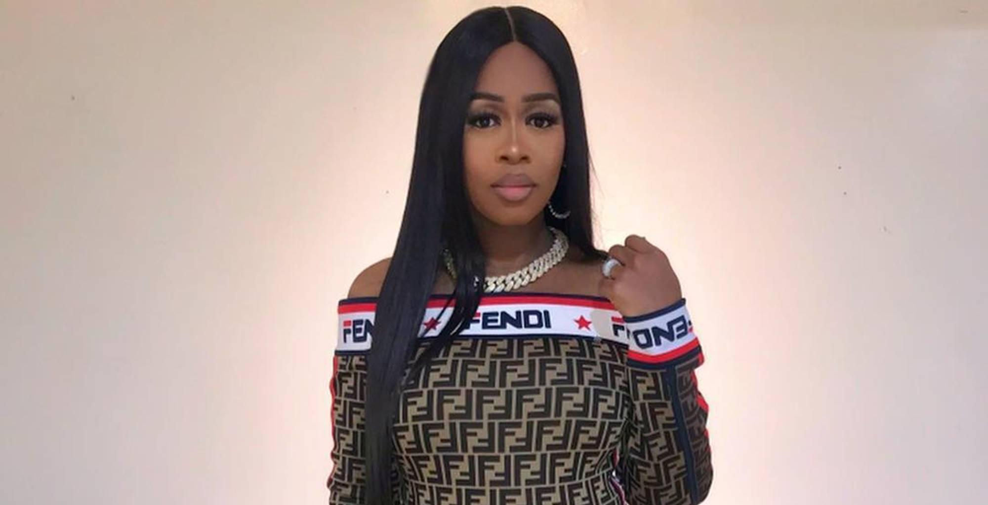 Remy Ma Shows Off Her Snap-Back Game In New Picture Wearing Killer Bodysuit After Welcoming Golden Child With Husband Papoose -- Critics See A Makeup Fail