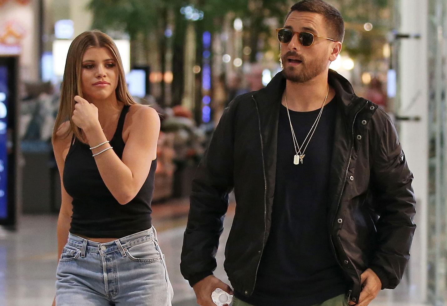Sofia Richie And Scott Disick Spotted During Romantic Date While Kourtney Kardashian Hangs Out With Mystery Man