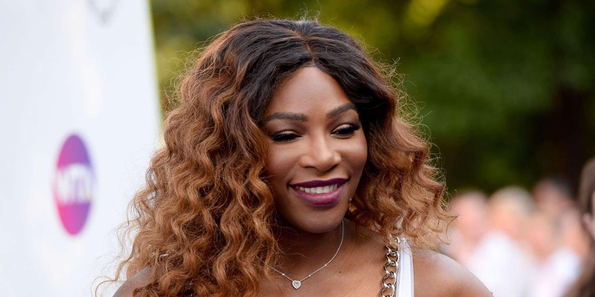 Serena Williams Rocks Fishnets And A Teal Romper At The Australian Open And Everyone Is A Fan!