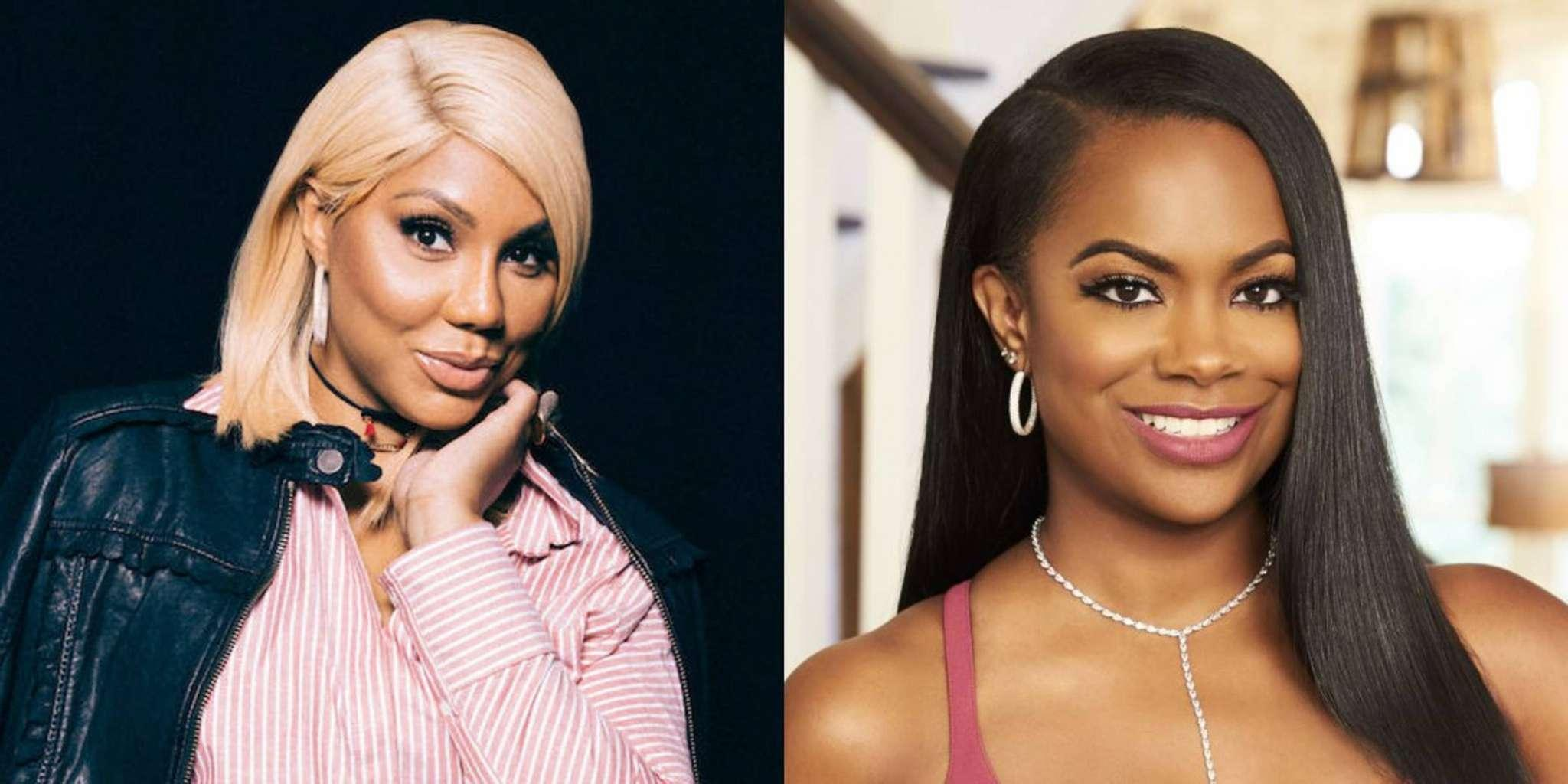 Tamar Braxton Has Meltdown After Kandi Burruss Laughs At Her Feelings -- Video Of Exchange Divides Fans Of Vincent Herbert's Wife