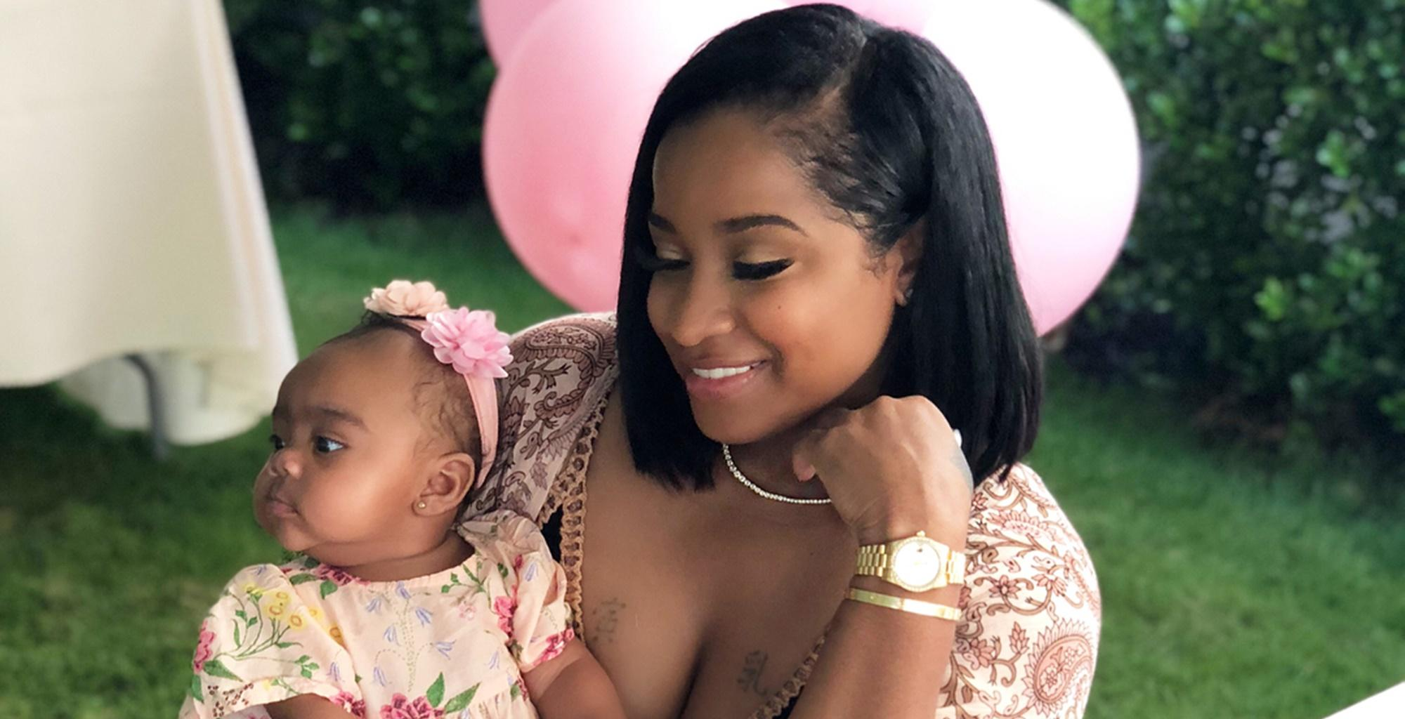 Toya Wright's Daughter Reing Rushing Is Getting Ready For Her 1st Birthday - Check Out The Gorgeous Pics In Which She Looks Like A Ballerina