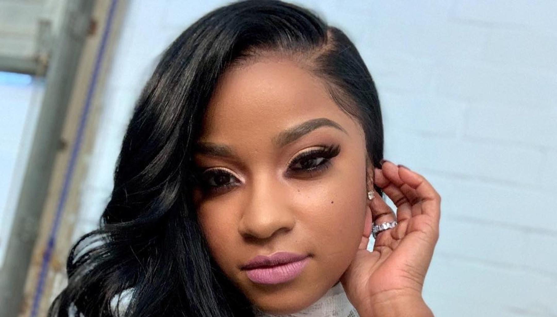 Toya Wright Sends Tongues Wagging In Sheer Dress -- Photo Is Enough For Robert Rushing To Cancel His Business Trip