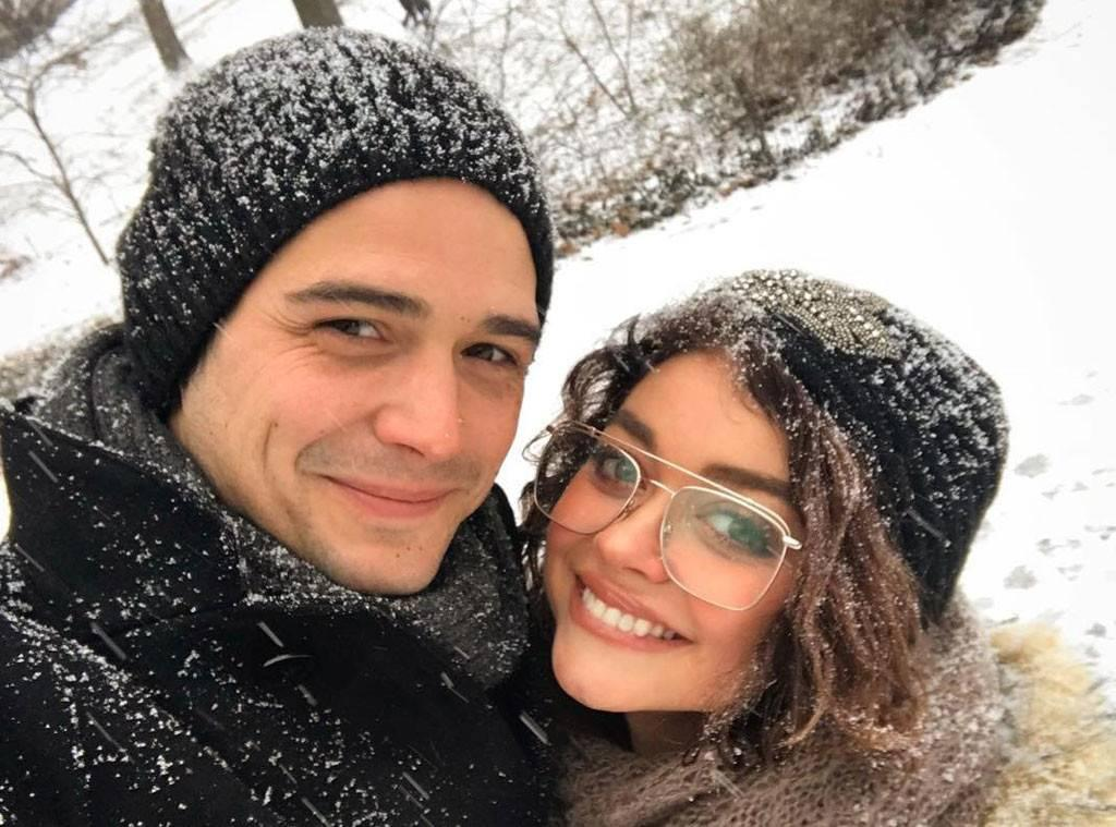 Sarah Hyland Might Just Get An Engagement Ring Sometime Soon Wells Adams Says