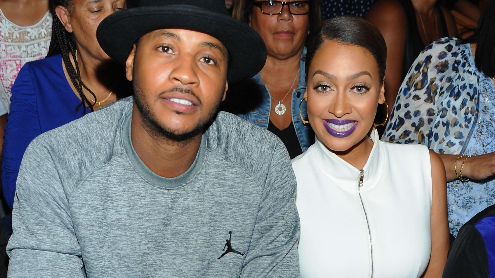 La La Anthony - How Does She Feel About Carmelo Leaving NYC After Their Reunion?