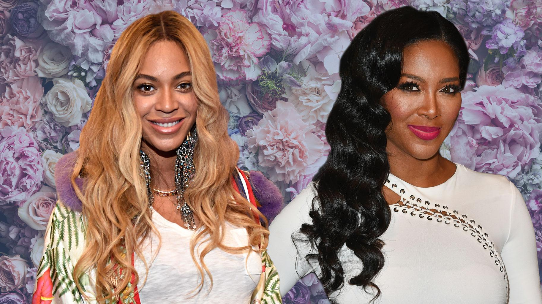 Kenya Moore Shares A Throwback Pic From A Video In Which She Was Paying Homage To Beyonce And Fans Are Here For It