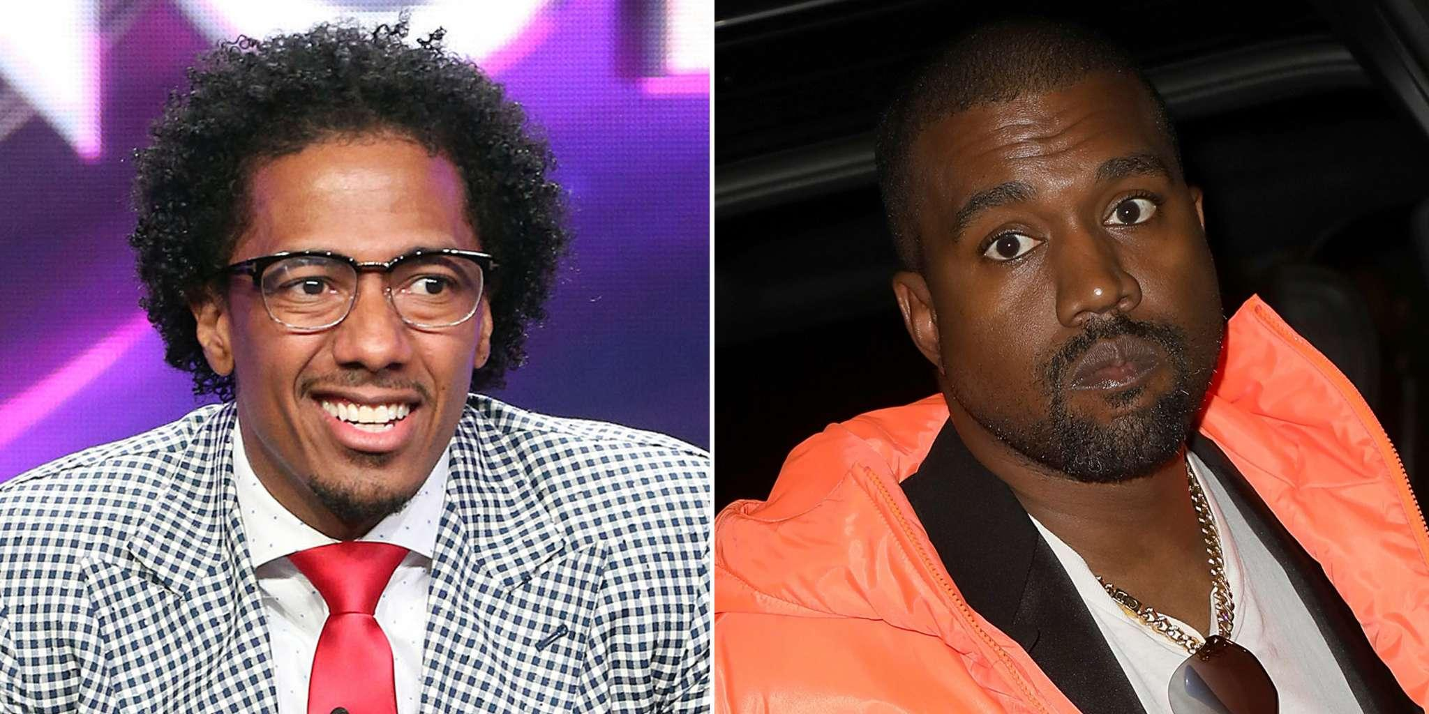 Nick Cannon Thinks Kanye West Would Win A Fist Fight Against Drake