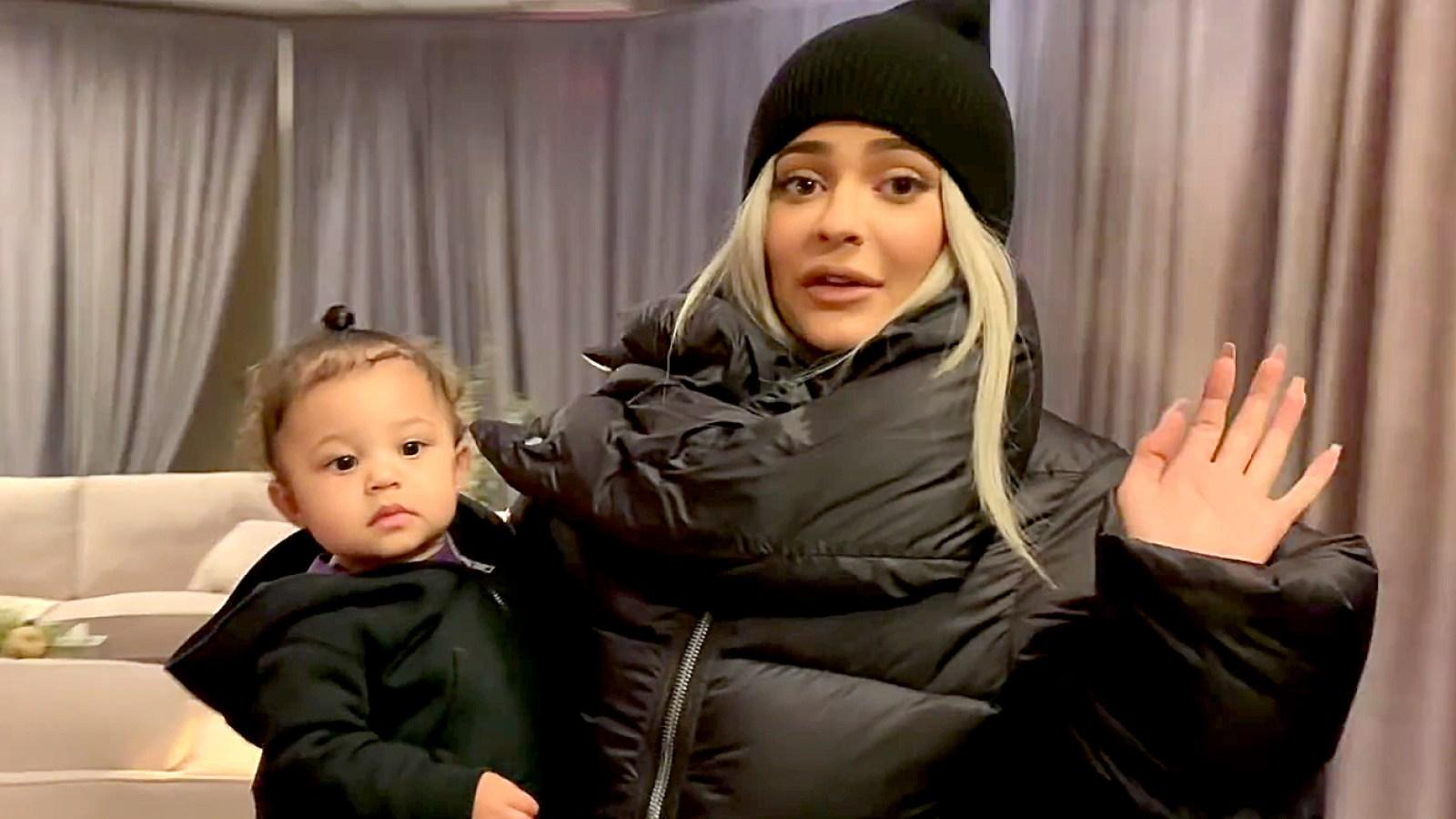 Kylie Jenner Takes Stormi Webster To Paradise Ahead Oh Her First Birthday - Watch The Jaw-Dropping Video