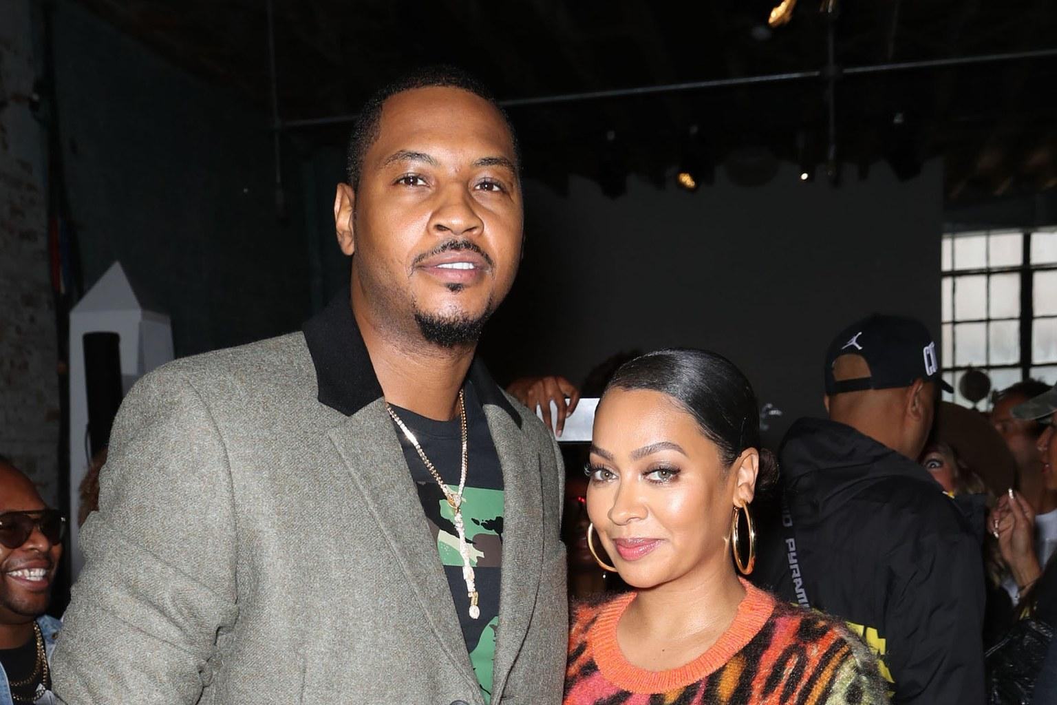 La La And Carmelo Anthony: Their Separation Reportedly Helped Them In The Long Run - Details!