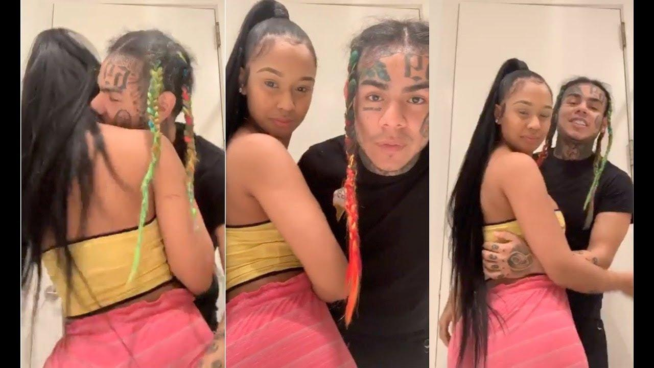 Tekashi 69's Girlfriend Jade Posts Racy Photo With The Young Rapper From Behind The Bars - See It Here: 'He's Good, Luv'
