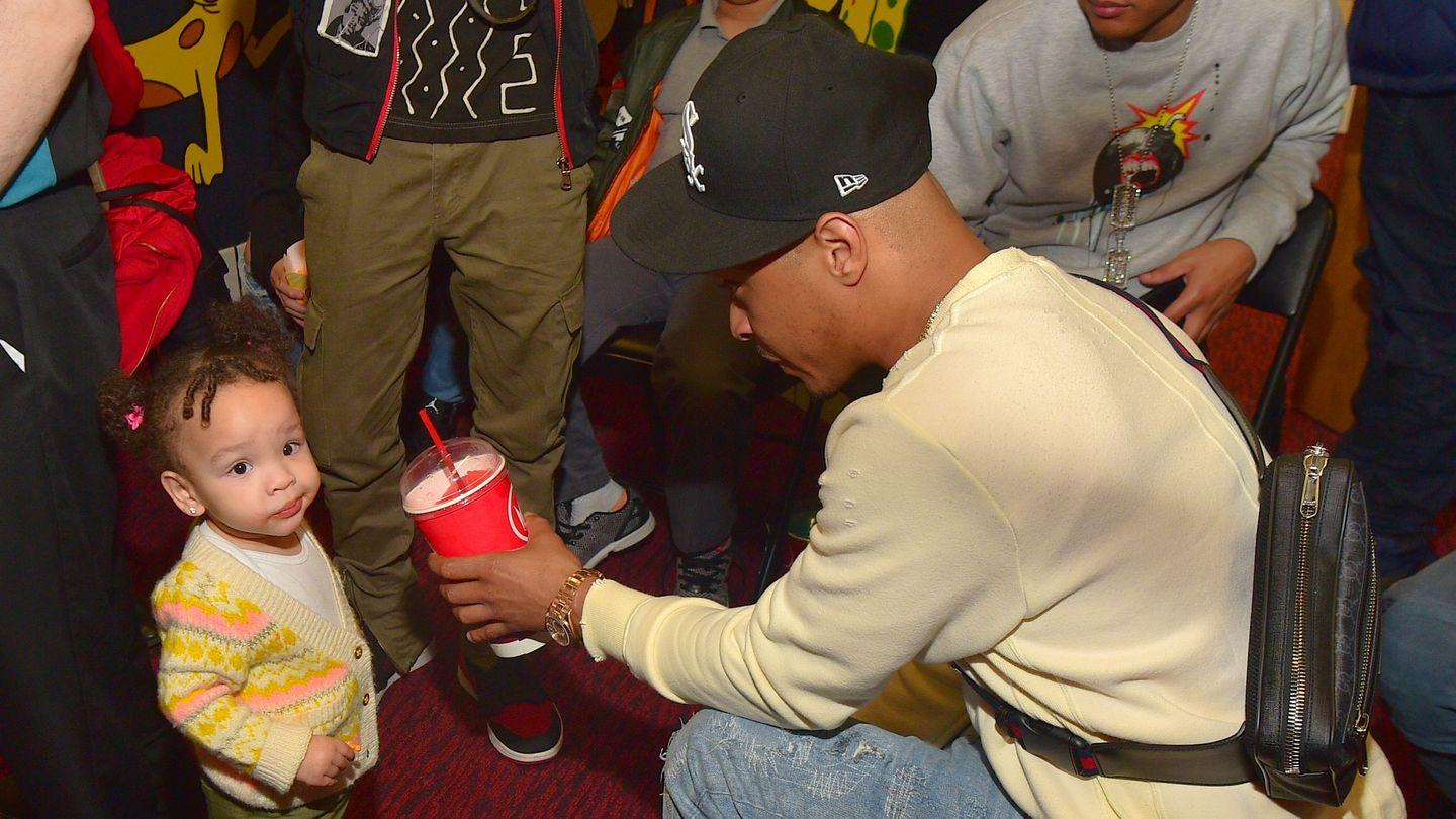 T.I. And Tiny Harris' Daughter Heiress Harris Rocks A Camo Outfit - Her Fashion Game Reaches A Whole New Level - See The Photo