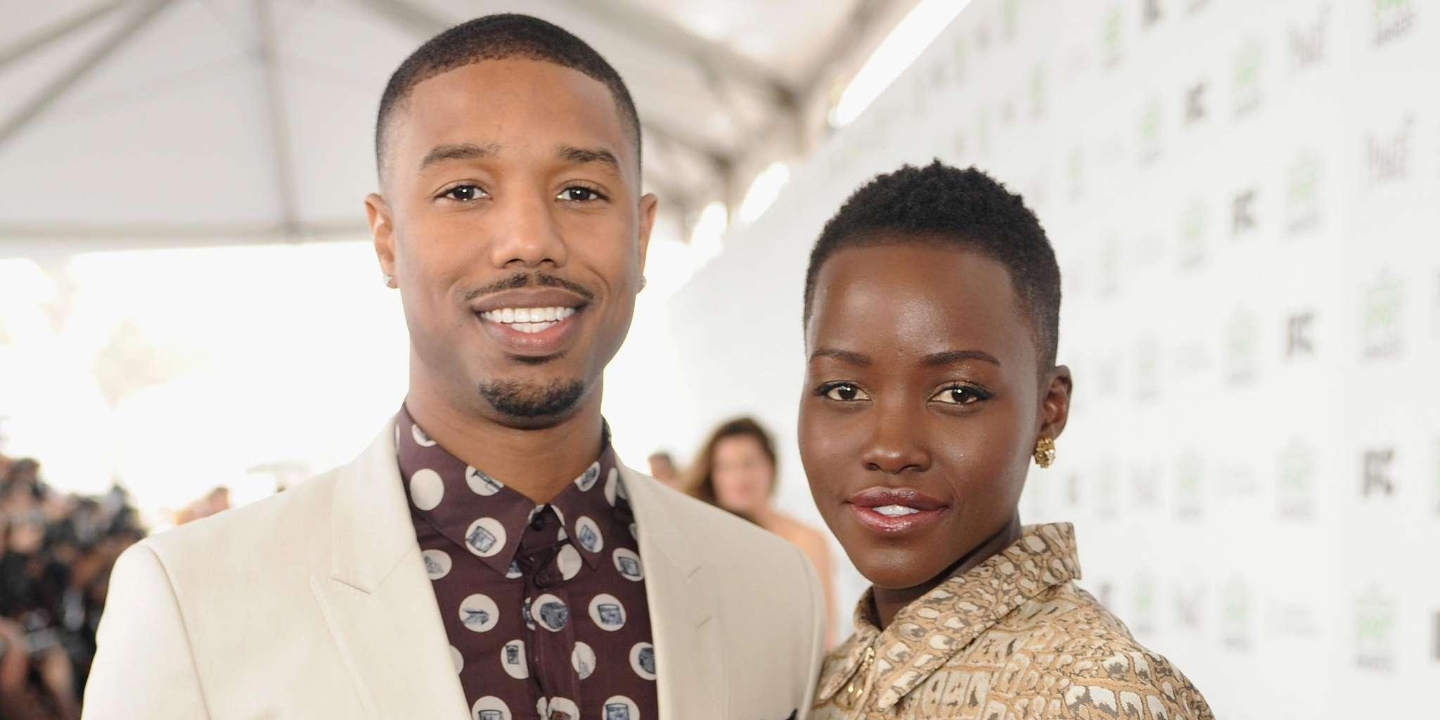 Michael B. Jordan And Lupita Nyong'o - What Are The Chances The 'Black Panther' Stars Will Date Amid FlirtyInteractions?
