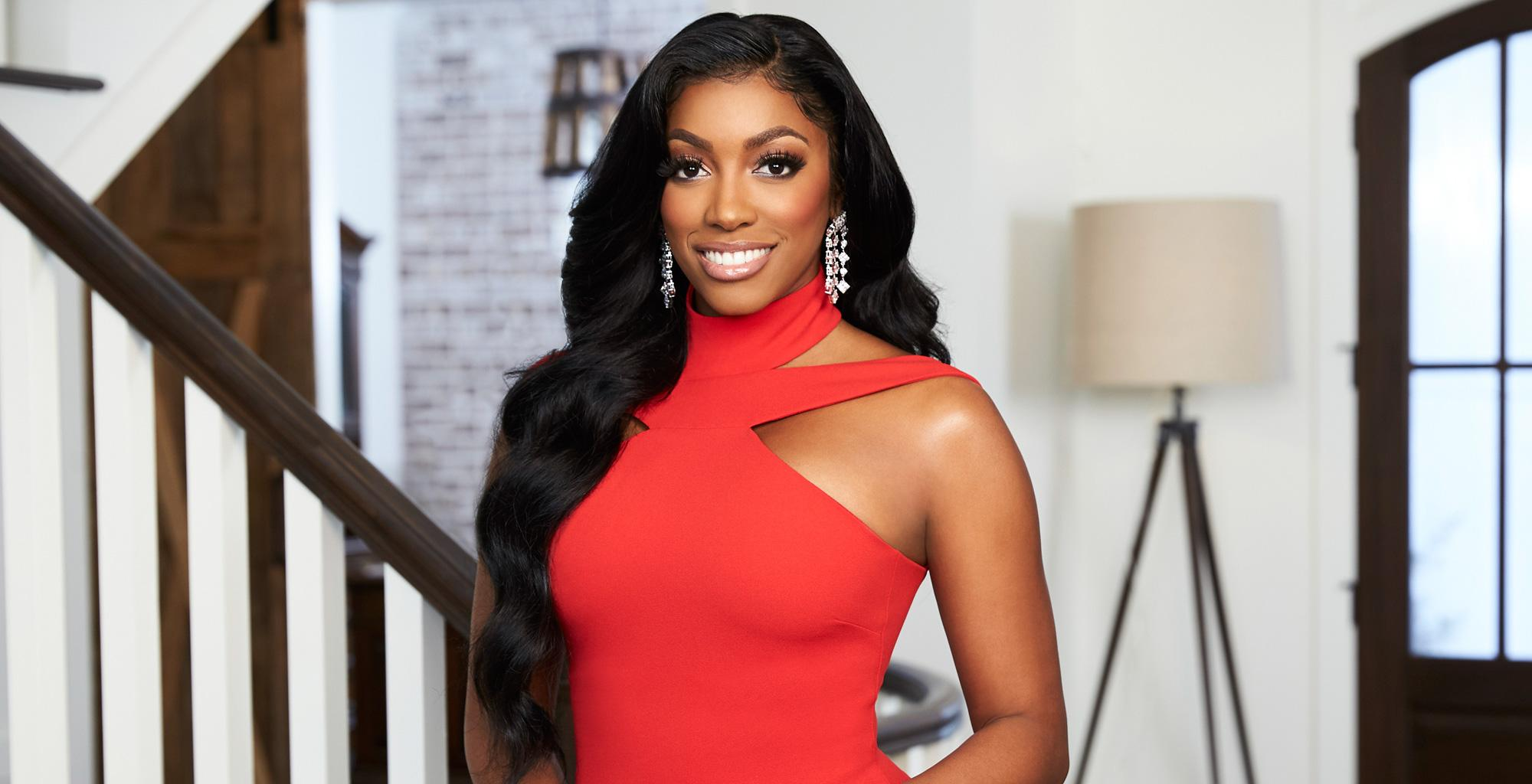 Porsha Williams Shares Pics From Dish Nation And Fans Are Anxious To Meet Baby PJ