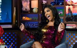 Porsha Williams Looks Gorgeous And Radiant With Her Dish Nation Team