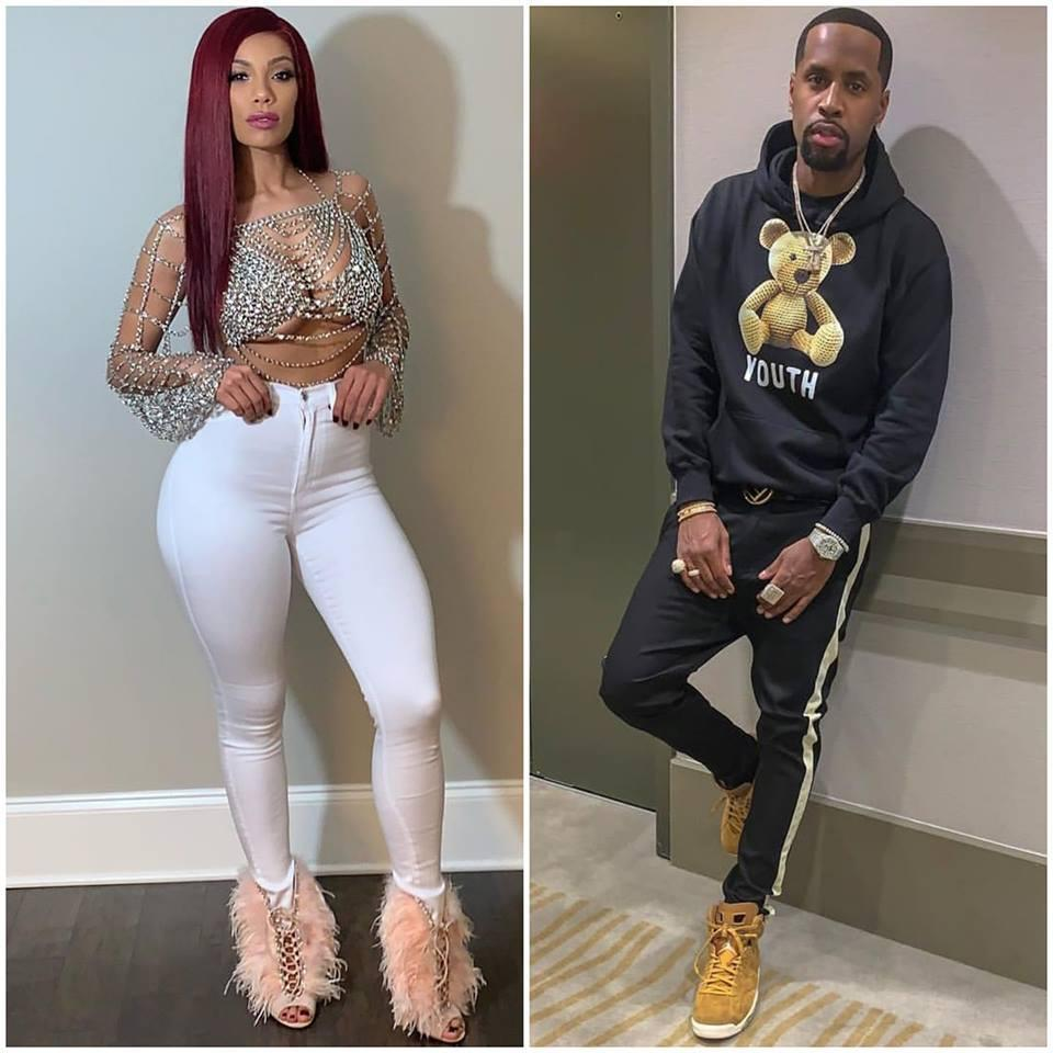 Safaree And Erica Mena Are Showing Off Matching Iced Out Watches In An IG Video - Fans Call Them 'Attention-Seeking Couple'