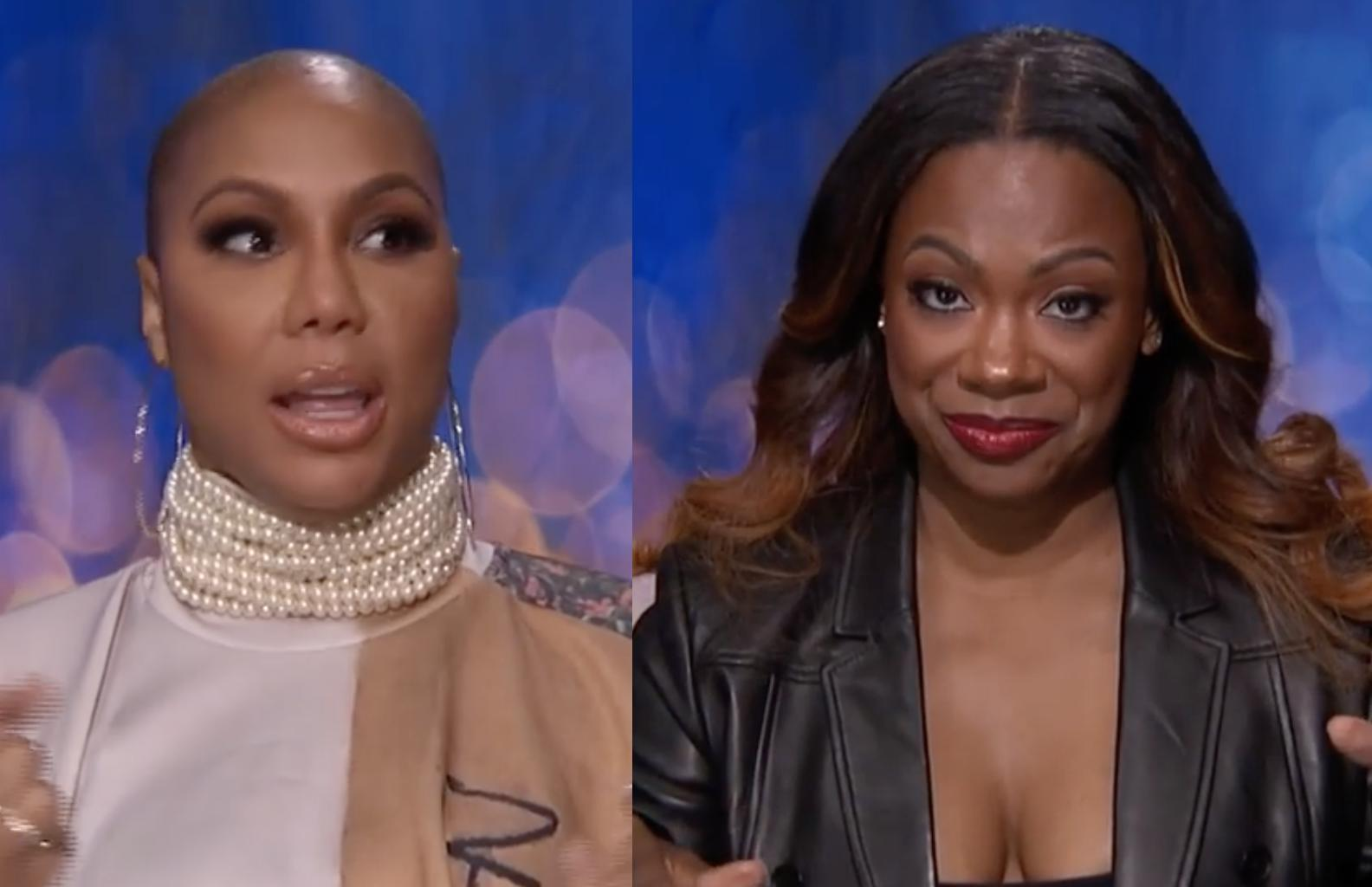 The Latest Video From Celebrity Big Brother Shows Tamar Braxton And Kandi Burruss Squashing Their Beef