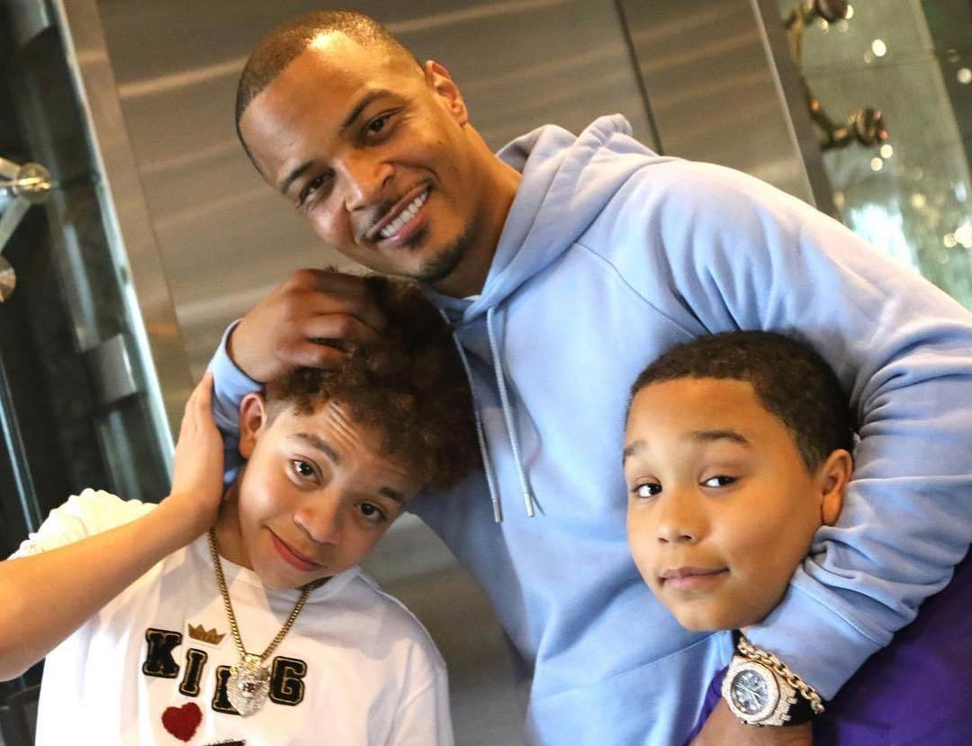 Rapper T.I. Gushes Over His Son, King Harris: 'This One Got All My Old Bankhead Genetics' - Fans Call Him A Heart Breaker